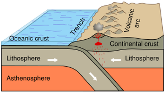 How Ocean Trenches Are Formed Ocean Trenches